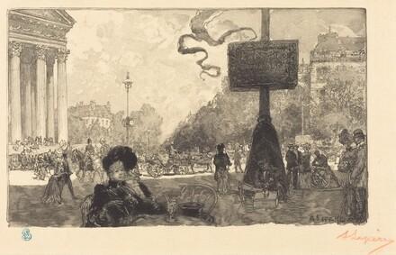 Corner of the Rue Royale (Coin de la rue royale)