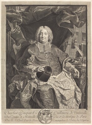 Charles-Gaspard-Guillaume de Vintimille du Luc, Archbishop of Paris