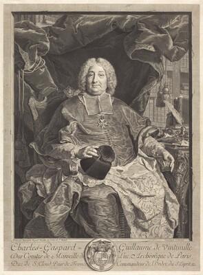 Charles-Gaspard-Guillaume de Vintimille du Luc, Archbishop of Paris