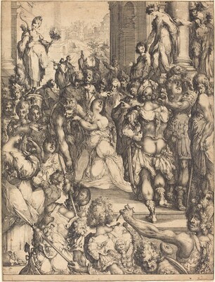 Martyrdom of Saint Lucy