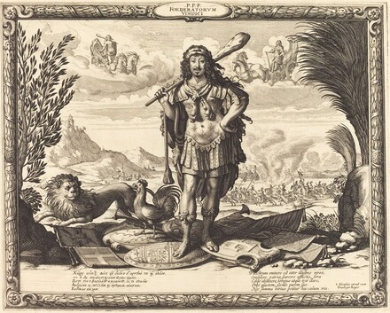 Louis XIII as Hercules