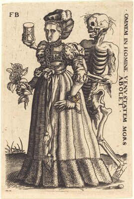 Young Woman and Death
