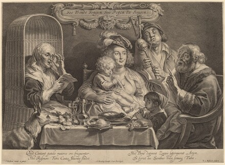 The Family Concert (As the old sing, so the young twitter)