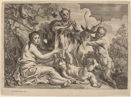 Jupiter Nourished by the Goat Amalthea