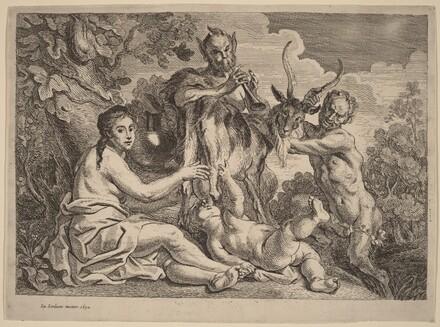 Jupiter Nourished by the Goat Amalthea