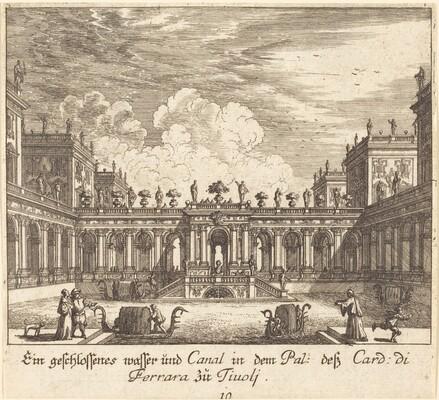 Palace and Canal, Cardinal di Ferrara, Tivoli