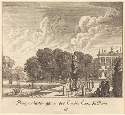 Gardens of Cardinal Coessi, Rome