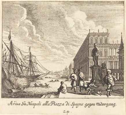 Palazzo di Spagna, Naples