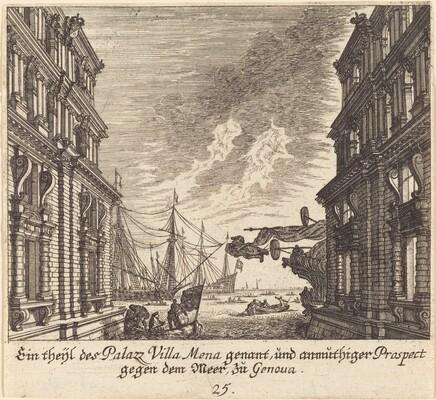 Palazzo Villamena, Genoa