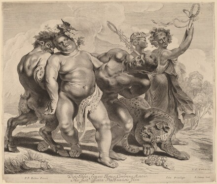 Drunkenness of Bacchus