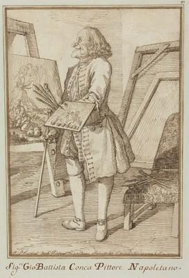 Signore Sebastiano Conca, Pittore Napoletano (Signore Sebastiano Conca, Neapolitan Painter)