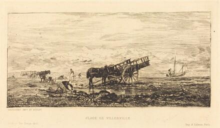 Beach at Villerville (Plage de Villerville)