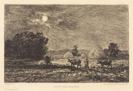 Moonlight at Valmondois (Clair de lune a Valmondois)