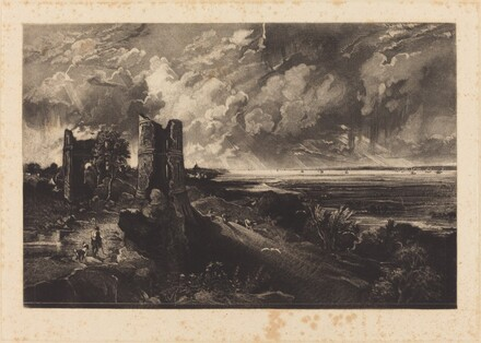 Hadleigh Castle (Small Plate)