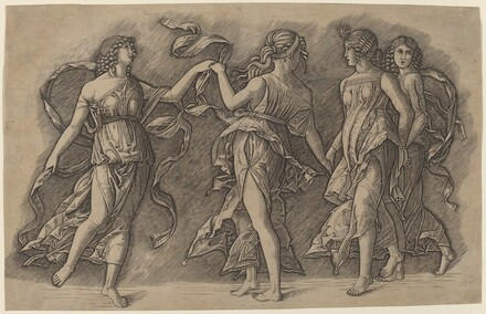 Four Dancing Muses