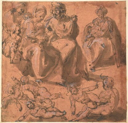 Studies of a Holy Family