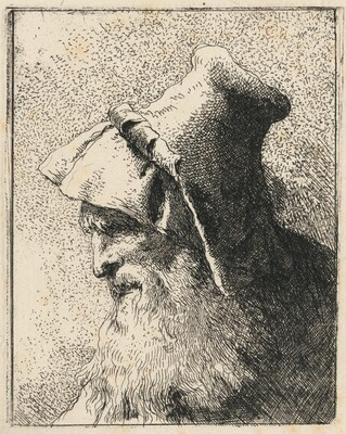 Profile of an Old Man with a Beard