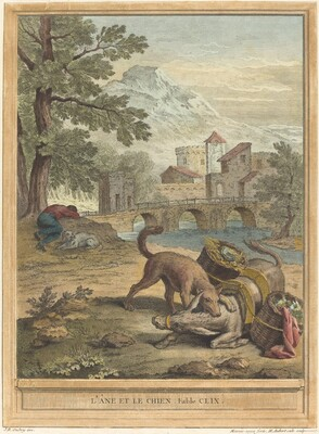 L'ane et le chien (The Donkey and the Dog)