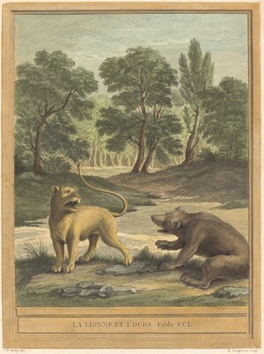 La lionne et l'ours (The Lion and the Bear)