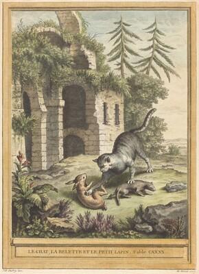 Le chat, la balette et le petit lapin (The Cat, the Weasel, and the Rabbit)