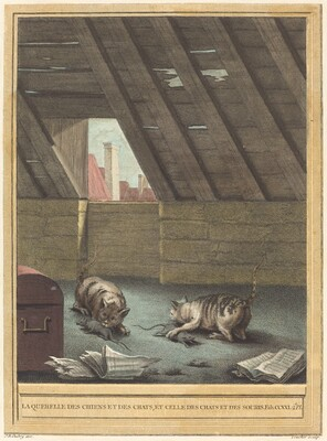 La querelle des chiens et des chats et celle des chats et des souris (The Quarrel of Cats and Dogs, and that of Cats and Mice)