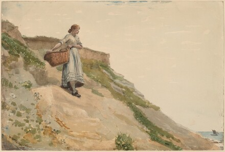 Winslow Homer, Girl Carrying a Basket, 1882