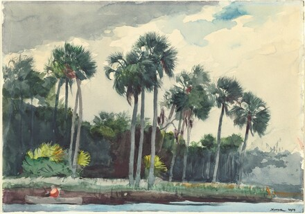 Winslow Homer, Red Shirt, Homosassa, Florida, 1904