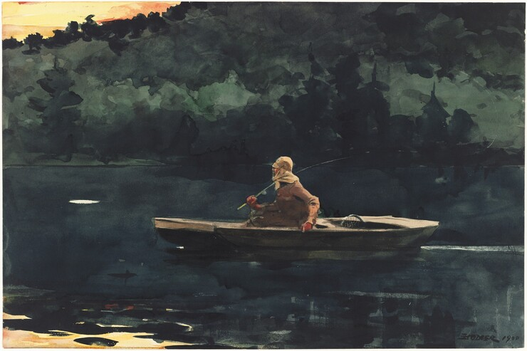 Winslow Homer, The Rise, 1900