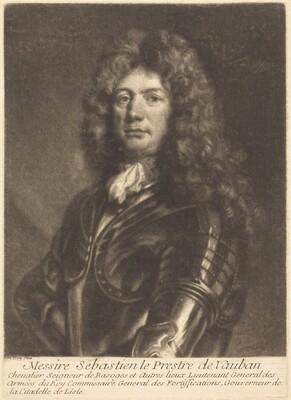 Portrait of M. Sebastien Le Prestre de Vauban