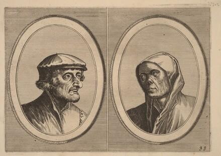 Voorsichtighe Krijn and Broentje Spaer-pots