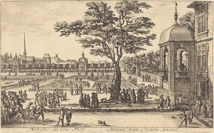 View of a Garden
