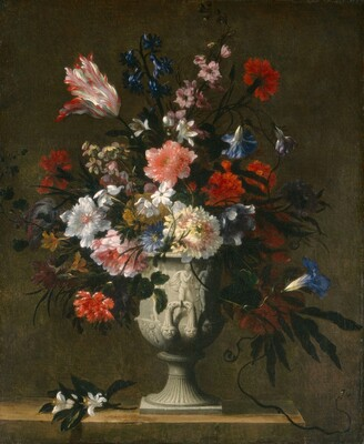 Flowers In A Classical Vase