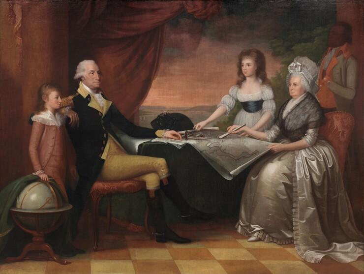 Edward Savage, The Washington Family, 1789-1796