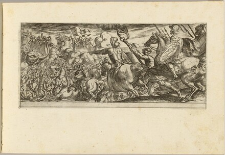 Cavalry Attack on a Walled Fortress