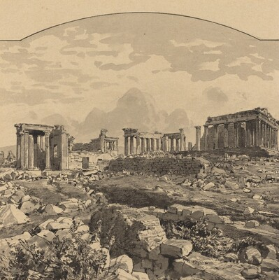 The Parthenon from the East