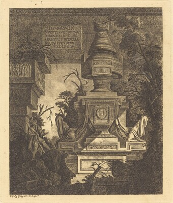 Frontispiece for Views of Tombs