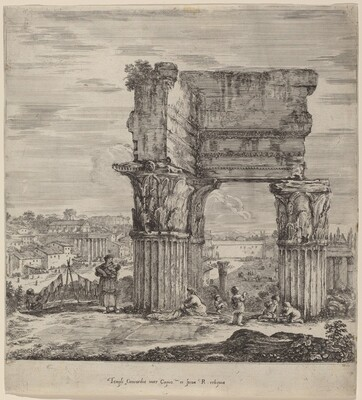 Temple of Concord and Roman Forum