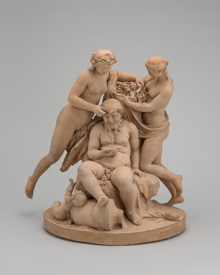 Silenus Crowned by Nymphs