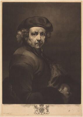 Rembrandt, Self-Portrait