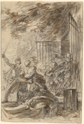 Isabella Abandons Her Home to Follow Odorico and His Men