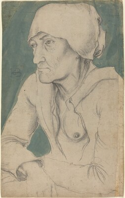 Half-Figure of an Old Woman with a Cap