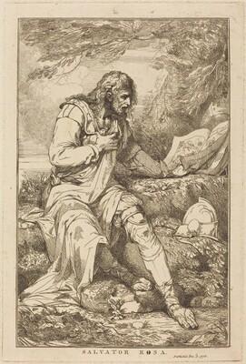 John Hamilton Mortimer, Salvator Rosa, 17781778