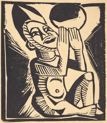 Figure Praying
