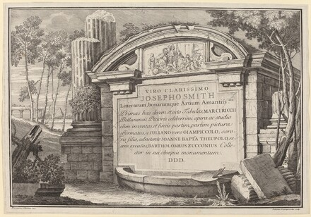 Classical Ruins in a Landscape: frontispiece