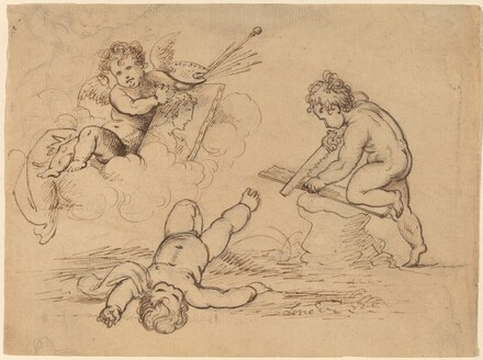 Allegory: Four Putti