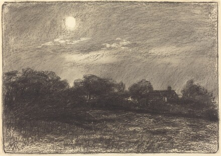 Evening, Farm Landscape