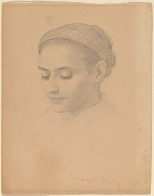 Head of a Young Woman