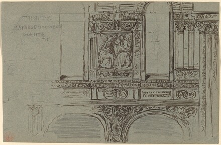 Trinity Church, Boston (nave) - Mural Study