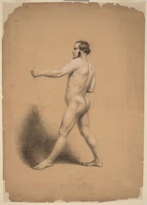 Archer, Nude Study