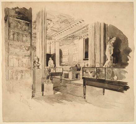 Interior, Fitzwilliam Museum